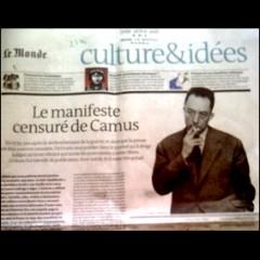manifeste censuré d'Albert Camus