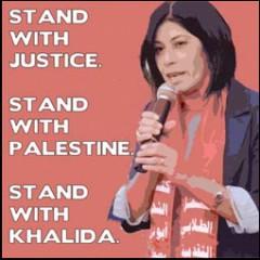 Khalida Jarrar, palestine
