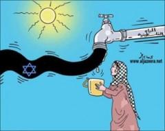 Forum mondial de l'eau, conflit israélo-palestinien