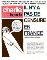 Censures, charlie hebdo