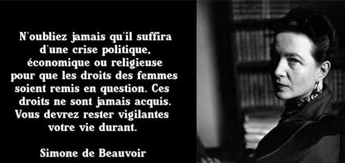 Simone de Beauvoir, manip pour tous